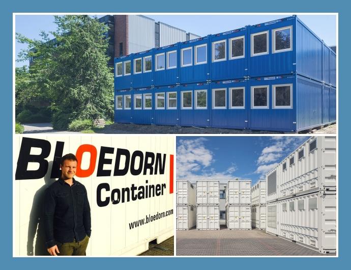 Bloedorn Container Dortmund Essen Wuppertal Lagercontainer mieten Spezialcontainer kaufen