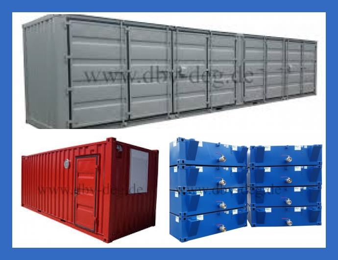DBV GmbH Containersysteme Deggendorf München Nürnberg Containeranlagen Lagercontainer kaufen