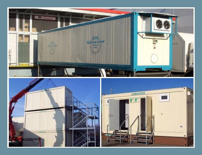 OTTL-CONTAINER München Augsburg Dachau Containerverleih Lagercontainer mieten Bürocontainer Containeranlagen