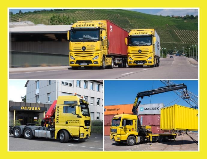 Deisser GmbH - Container-Service in Stuttgart Ludwigsburg Pforzheim