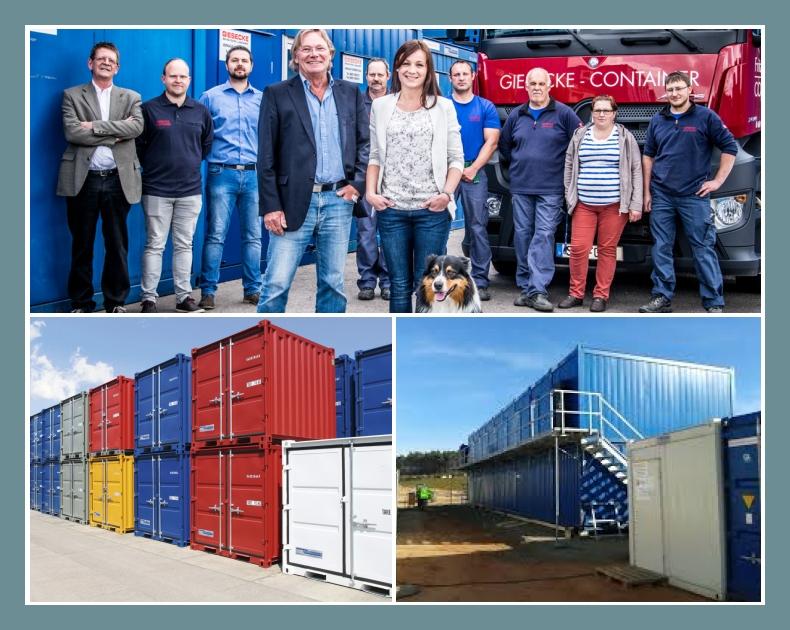 Fritz Giesecke Container Handel Vermietung Friedrichsthal Neunkirchen Saarbrücken Lagercontainer Seecontainer Bürocontainer