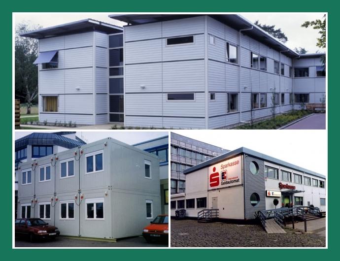 G. Ungrund GmbH Neuenkirchen Rheine Ibbenbüren Wohncontainer Bürocontainer Containeranlagen