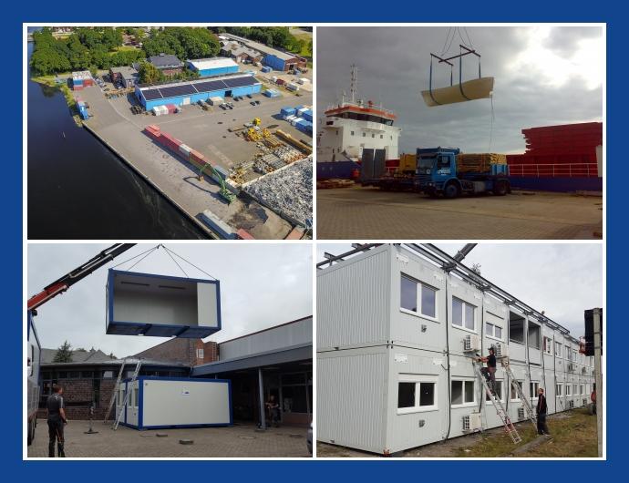 Jade-Weser Logistik GmbH - Containerhandel in Wilhelmshaven Bremerhaven Oldenburg Bremen