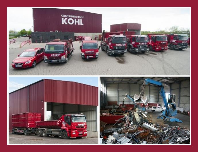 Kohl Containerdienst GmbH in Kevelaer Kleve Düsseldorf
