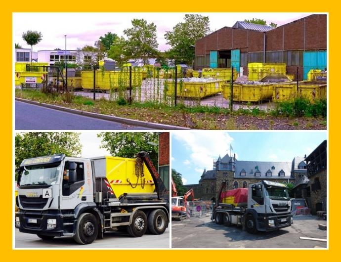 Müller Container - Containerdienst in Düsseldorf Hilden Köln Essen