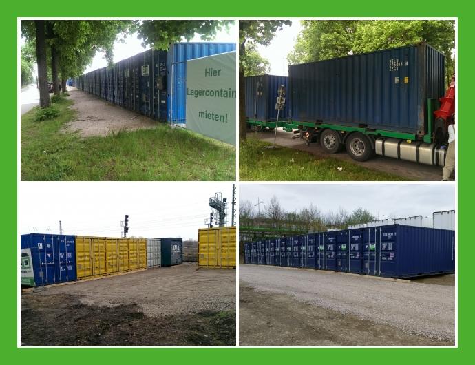 Regionaler Lager Service GmbH - Lagercontainer in Vogtareuth München Regensburg