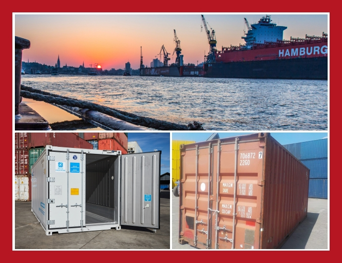 CR Container Trading GmbH - Containerverkauf in Hamburg Buxtehude Ahrensburg